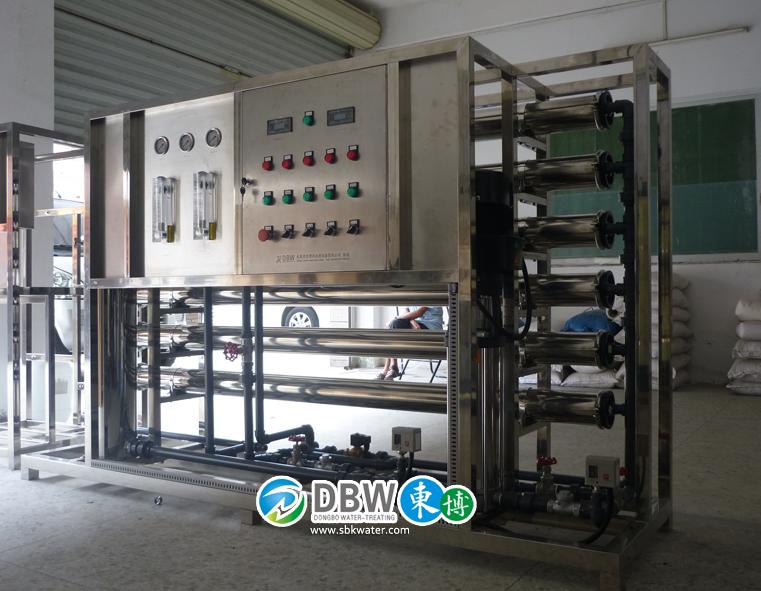 清洗镀膜用去离子水设备-去离子水设备厂家-东博去离子水设备优质供应商